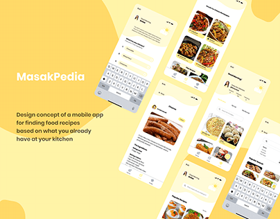 MasakPedia : An App For Finding Food Recipes