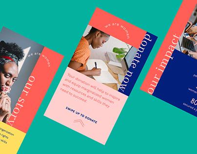 Branding and Social Media Design for Nonprofit