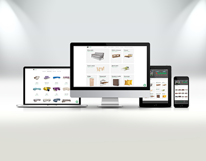 Наповнення контентом Інтернет магазину Салон меблів Dia