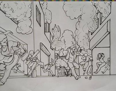 Story Boarding Illustration