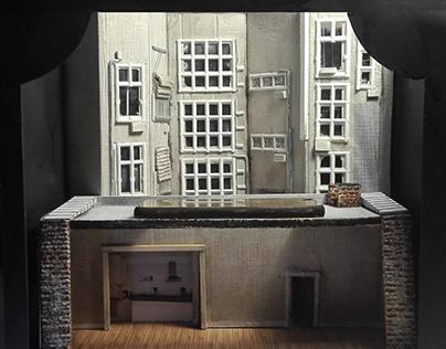 Set Design - Scale Model for theatre - 2018