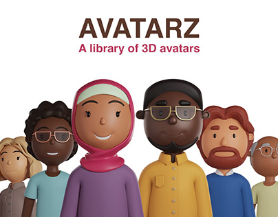 AVATARZ - Diverse library of 3D avatars