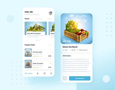 Travel Agency App Exploration