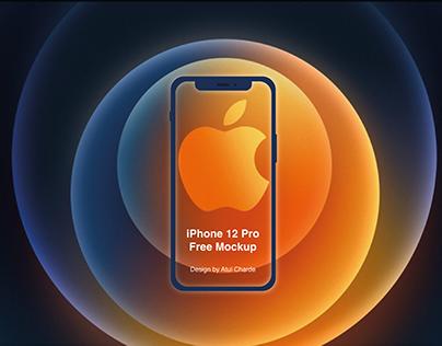 Free Mockup - iPhone 12 Pro