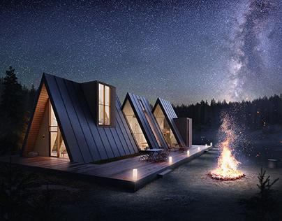 Lost - Cabin Concept