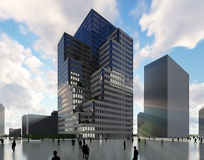 Jining Sky Terrace - Masterthesis (Deutsch/German)