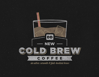 Dunkin' Donuts Cold Brew Tees