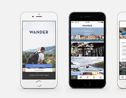Wander - Travel App