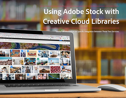 Using Adobe Stock with Creative Cloud Libraries