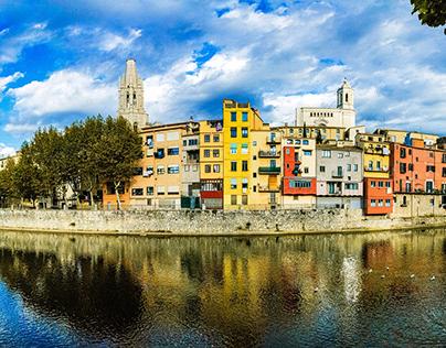 Girona panoramic
