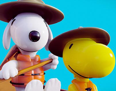 Snoopy Canoe
