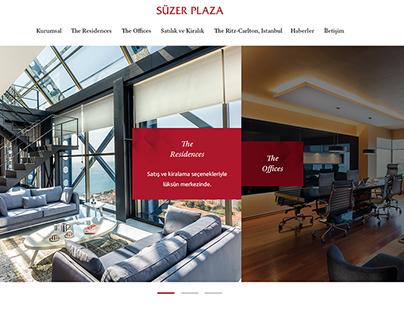 Suzer Plaza Web Site Design