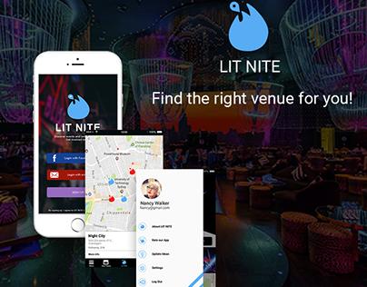 LIT NITE iOS App