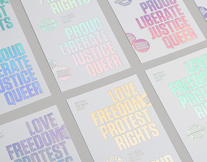 LGBT+ Rights Exhibition Design