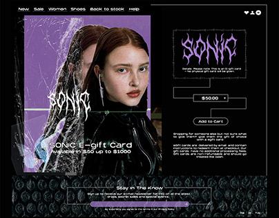 SONIC UX/UI
