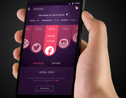 Data Usage App