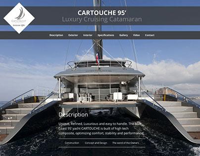CARTOUCHE 95' Luxury Cruising Catamaran