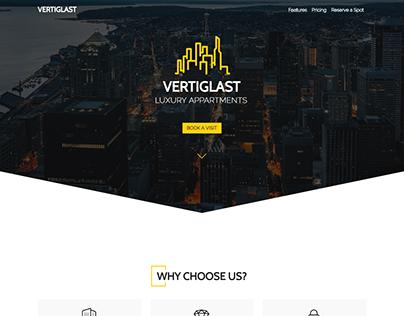 Vertiglast - Real Estate Landing Page Style 2
