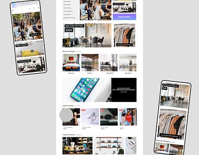 Customised E-Commerce Mobile App for Vendors