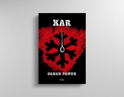 Kar, The Snow, Alternatif Tasarım, Book Cover