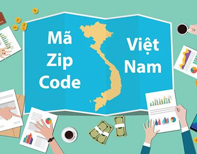 Mã bưu chính Zip Code 63 tỉnh thành Việt Nam mới nhất