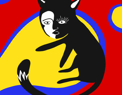 Color Wheel Cats