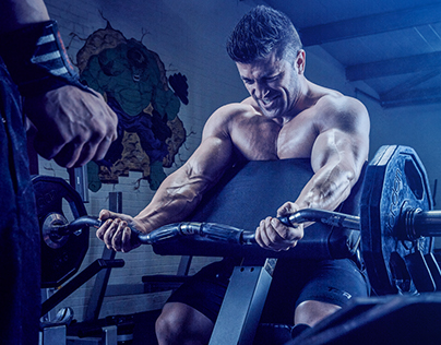 The Bodybuilding Gym.