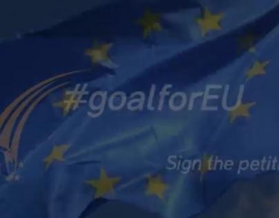 #goalforEU a campaign at the European Parliament