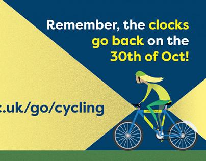 Safe Cycling Poster - Nottingham Uni