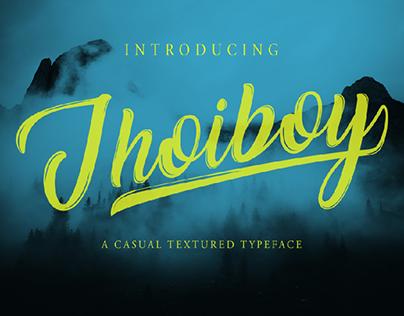 Jhoiboy Font