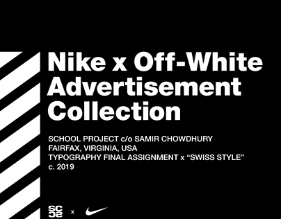 Nike x Off-White Advertisements