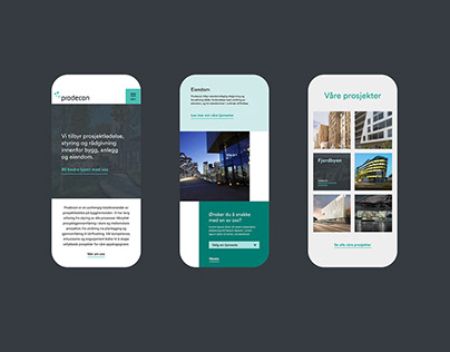 Prodecon website design