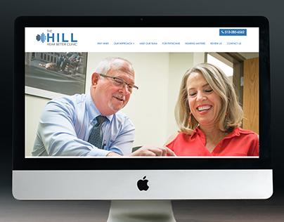 Hill Hear Better Clinic Brand & Website