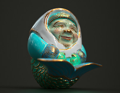 Grandma Mermaid