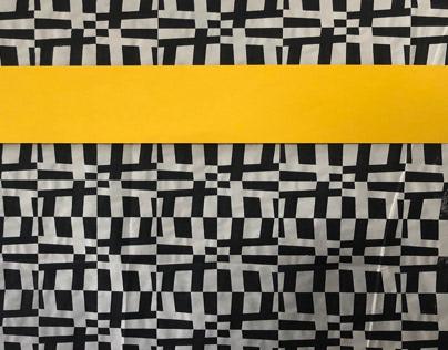 Esquemas en amarillo y negro.