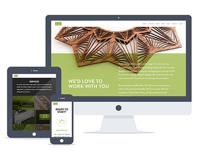 NoDá Design Studio - 2015 Website