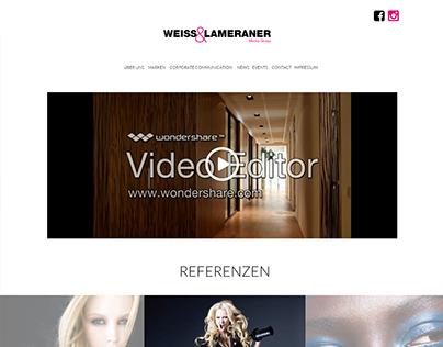Screendesign weisslameraner.com