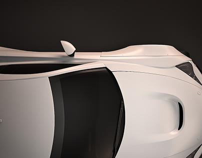 Automotive CGI: Lexus LFA
