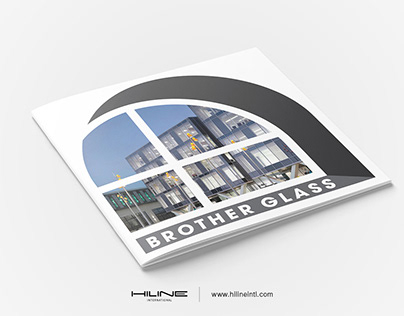 Brother Glass profile Brochure Print Design by Hiline