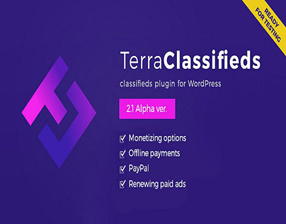 TerraClassifieds ver. 2.1 Alpha with monetizing options
