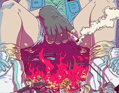 GigaGirl - Cigarette