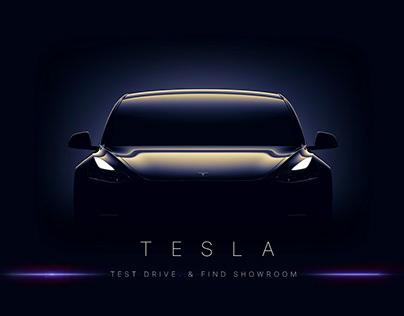 Tesla Test Drive App