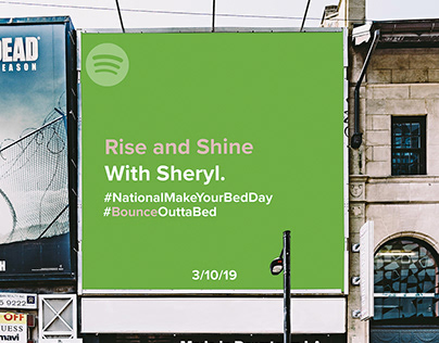 Spotify: National MakeYour Bed Day