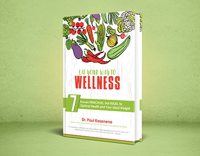 Nutrition Book Cover Design