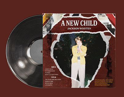 A New Child Vinyl Back Cover + Inserts