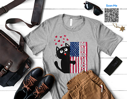 Cat T-Shirts Design Bundle