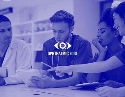 OPHTHALMIC EDGE | Brand Identity + UX + Admin Portal