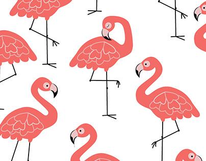 Let's Flamingo (Plain)
