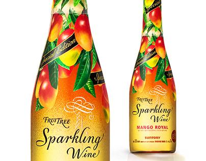 FRUITREE Sparkling Wine, Mango, Winter Limited 2016