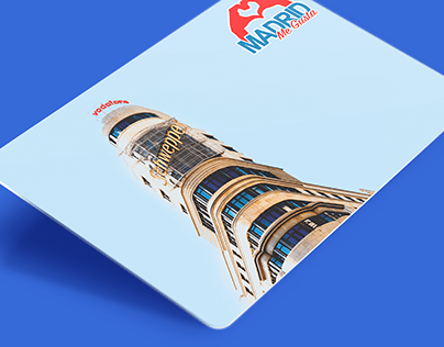 """Series of postcards """"Madrid me gusta"""" (Madrid I like)"""